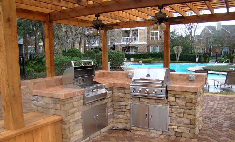 Long Island Outdoor Kitchen